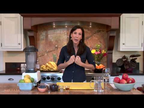 Blueberry Frappe: Raw Food Recipe