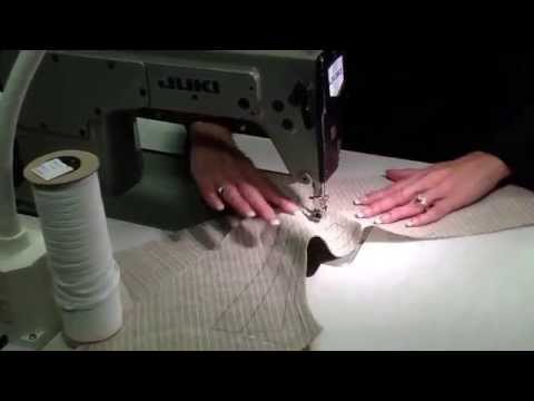 Machine pad stitch