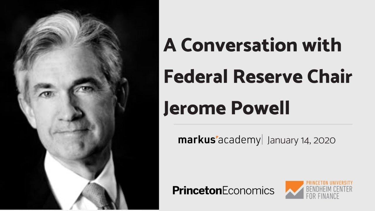 A Conversation with Federal Reserve Chair Jerome Powell '75