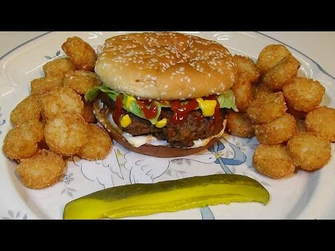 How to make Skillet Burgers