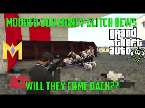 GTA5 Online Glitches *NEW* MODDED MONEY JOB UPDATE INFO! NEW XBOX/PS4 INFO