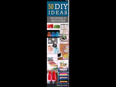 50 Quick DIY Projects