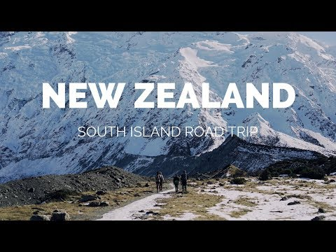 New Zealand South Island - Winter 2017