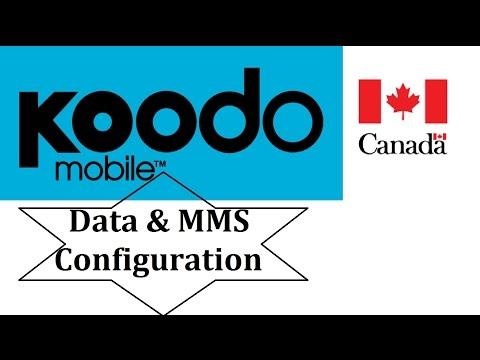 Koodo Mobile APN Settings for Android ( data & mms ) Canada
