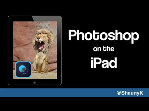 Photoshop on the iPad - Getting started with Photoshop Mix