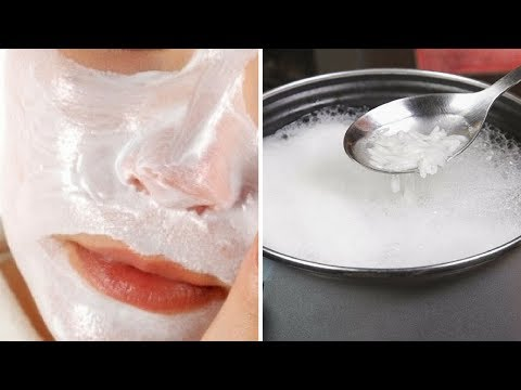 Boiled Rice Water For Permanent Skin Whitening and Smooth Bright Skin Rabia Skincare B