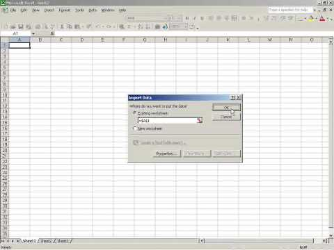 SchoolCO2web tutorial 01 How to import csv files in Excel