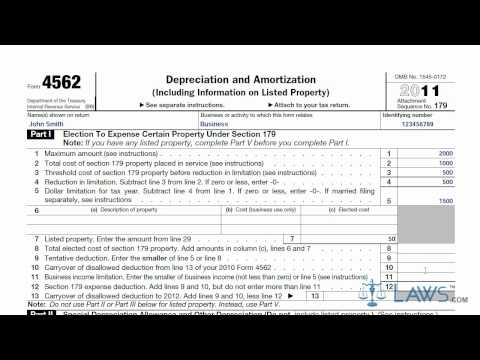 Learn How to Fill the Form 4562 Depreciation and Amortization