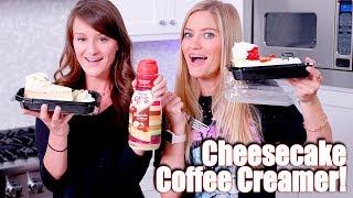 Cheesecake Factory Coffee Creamer TASTE TEST! ☕️