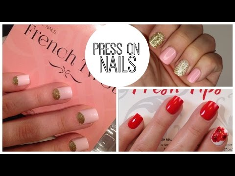 Press On Nails: favorites, how to apply, and remove without damage | Bailey B.