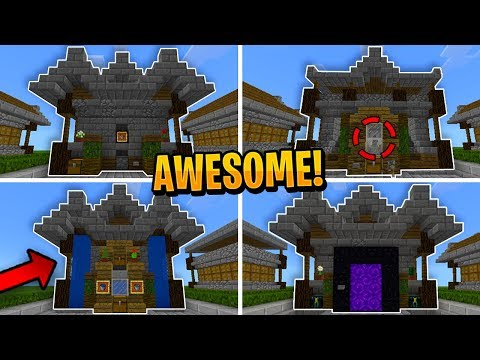 5 SIMPLE Redstone Creations in Minecraft!