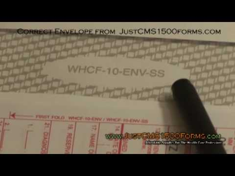 CMS 1500 Forms - Into The Envelope