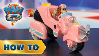 PAW Patrol: The Movie - Liberty Feature Vehicle How To Play - PAW Patrol Official & Friends