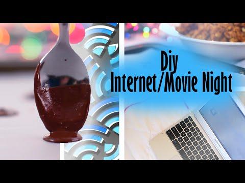 Diy Internet/Movie Night - Diy Snacks, Decor, and Earphones