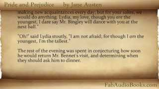 PRIDE AND PREJUDICE by Jane Austen - Chapter 2 - audiobook / eBook - Fab Audio Books