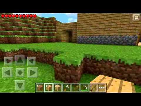 Minecraft pe episode 4 Building my mineshaft