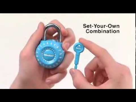Master Lock 1590D Combination Padlocks | Informational