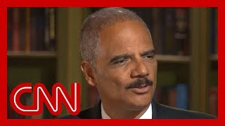 Holder cautions against prosecuting Trump post presidency
