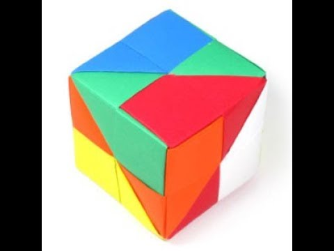 How to make a  paper Dice.