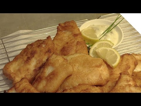 Simple Homemade Beer Batter Fish Recipe - Perfect for Fish and Chips - Thin, Crispy, Batter