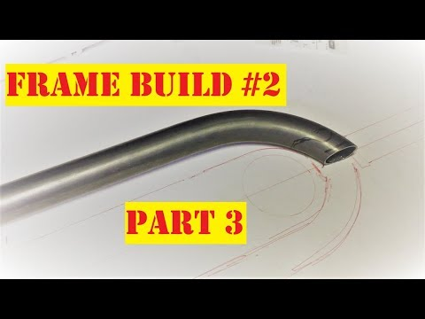 Bicycle frame build number 2 part 3