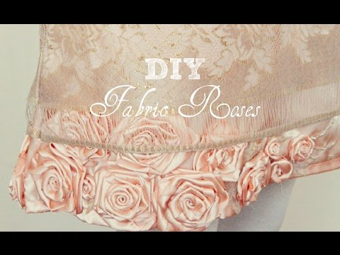 DIY: How to Make Fabric Roses