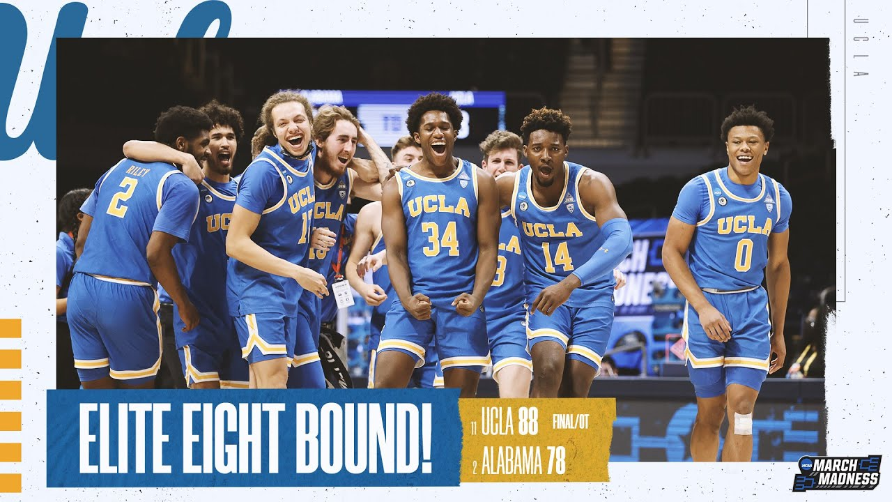 Alabama vs. UCLA - Sweet 16 NCAA tournament extended highlights