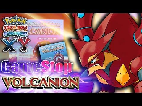 MYTHICAL LEGENDARY POKÉMON VOLCANION GAMESTOP GIVEAWAY CODE - Pokemon X, Y, ORAS