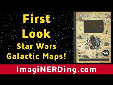 Star Wars Galactic Maps Book First Look! Star Wars Geography Explained