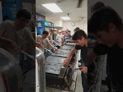 Troop 89 Pancake Griddle machine