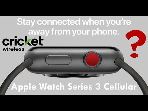 Does Cricket Wireless Support The NEW Cellular Apple Watch Series 3?