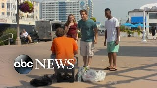 Teens Harass And Humiliate the Homeless | What Would You Do? | WWYD