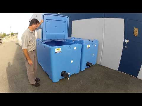Customized Fish & Seafood Live Transport Containers