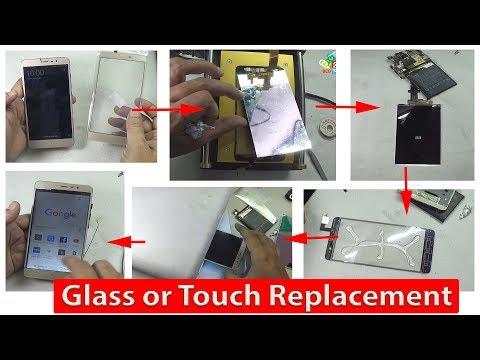 How to Remove Broken Glass or Touch on any Mobile Phones without replacing LCD by BCD Tech