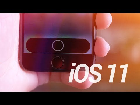 iOS 11: Landscape Lock Screen & Hidden iPhone 8 Function Row?!