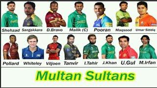 psl 2018 Multan Sultans full squad   Multan Sultans squad for pakistan super league 2018
