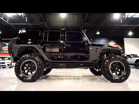 2015 Jeep Wrangler Black with custom accessories