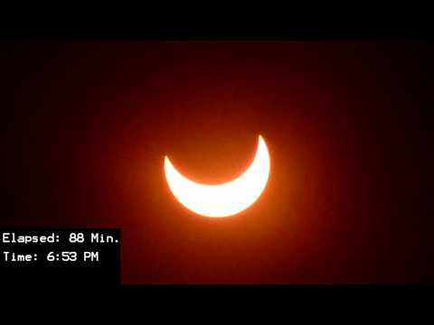 Annular Eclipse 2012 - Southern California