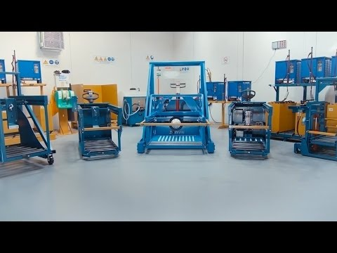 BHS Lift Truck Battery Room: Carriage Systems