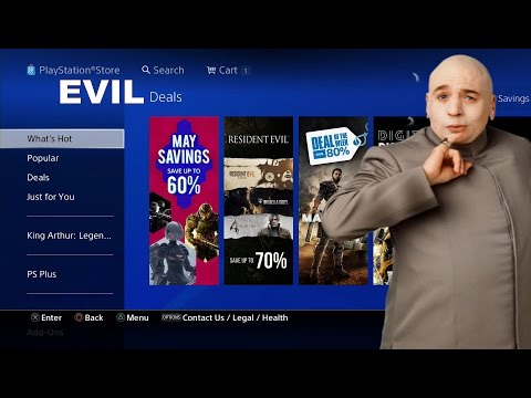 PS4 Evil Discounts From the EU on PSN Super Cheap Video Games
