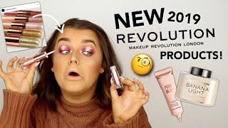 FULL FACE OF NEW IN MAKE UP REVOLUTION! OKURRR 2019 NEWNESS! | Rachel Leary