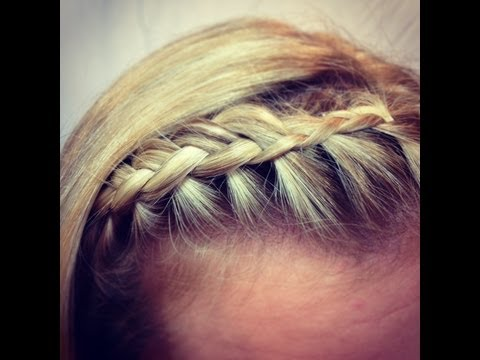 Fringe (bangs) Braid