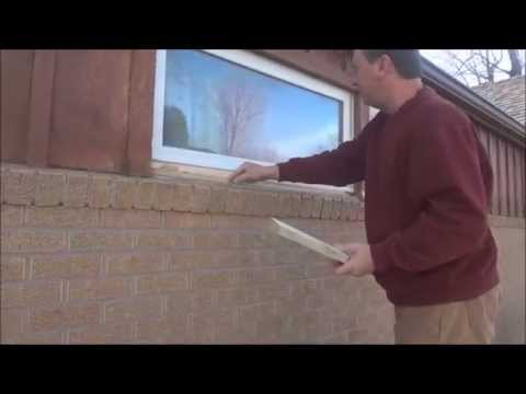 Window Sill Replacement Installation