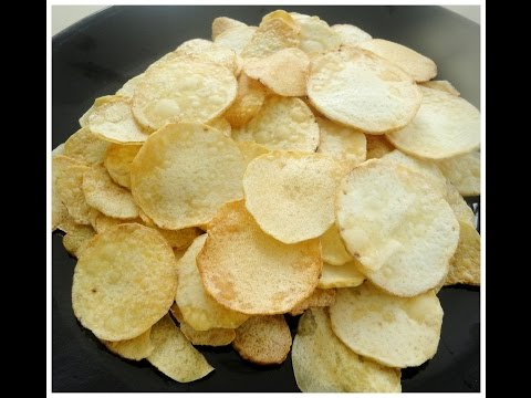 Onam Special Chembu Upperi / Taro Root Chips- chinnuz' I Love My Kerala Food