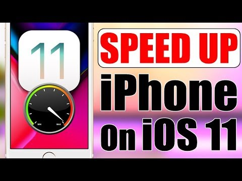 SPEED UP Your iPhone On iOS 11 !!!