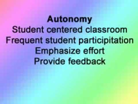 Motivating Students in the classroom