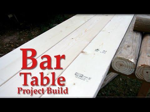 Bar table - Build Video