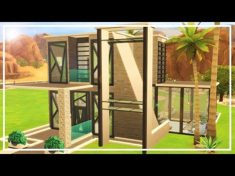 SIMS 4 FITNESS MODERN HOUSE 🏆 Speed Build & Download