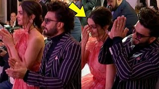 PREGNANT Deepika Padukone gets EMOTIONAL with hubby Ranveer Singh for her Father