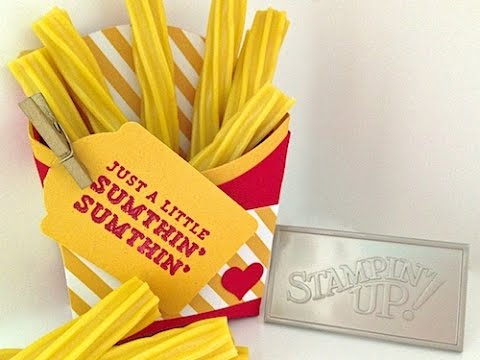Simply Simple MICKEY D'S FRENCH FRY BOX by Connie Stewart